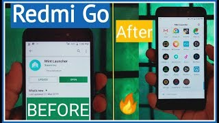 Redmi Go Launcher Update & Review | Redmi Go Icon Pack & Theme Change | Redmi Go Tips & Tricks |