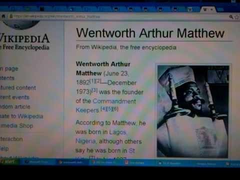 Black America's 1st Rabbi  Wentworth Arthur Matthew & Black Jews Ethiopian Hebrews in America