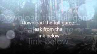 Download Crysis 2 - Full Game Leak PC Free