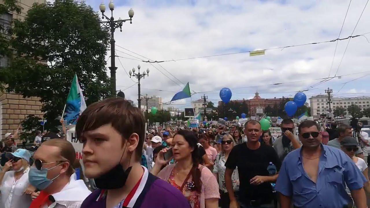 Шествие в Хабаровске, 25 июля
