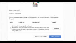 Google Takeout: Datensicherung & Backup für Google-Dienste
