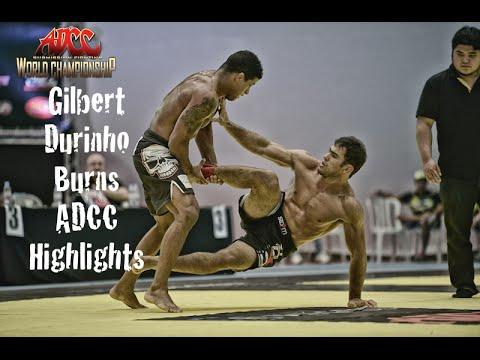 Gilbert 'Durinho' Burns - ADCC 2015 - NOGI & Takedowns - BJJ Highlights [HELLO JAPAN]