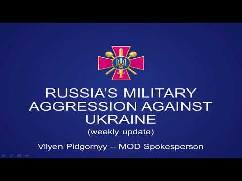Russian military aggression in eastern Ukraine. UCMC 25.09.2017