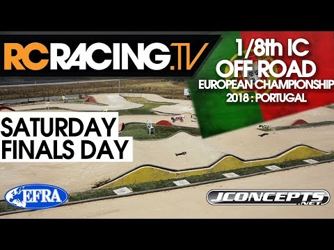 EFRA 1/8th Off Road  Euros - Saturday - Finals Day -LIVE!