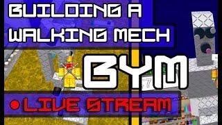 Live-Stream [Roblox BYM] Bauen sie einen Wander-Mech!