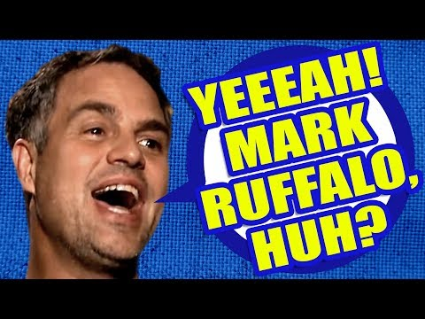 YEEEAH! MARK RUFFALO, HUH? | PSYCHOTIC DEMENTED DANCING MEME by Aldo Jones