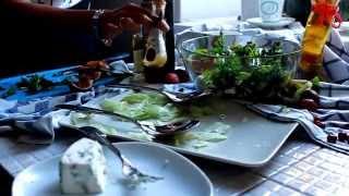 легкий свежий необычный салат рецепт