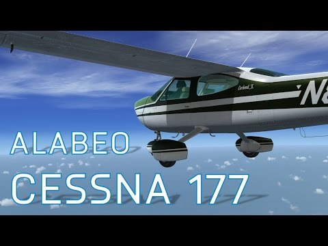 FSX Cessna 177 Cardinal - Alabeo   FlightSim.Com - Episode 7