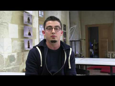 International - Vincent, étudiant à l'École Supérieure de Design