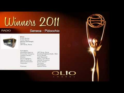 Clio Awards Silver Seneca Pidocchio
