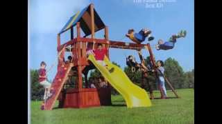 Rainbow Play Structure For Sale