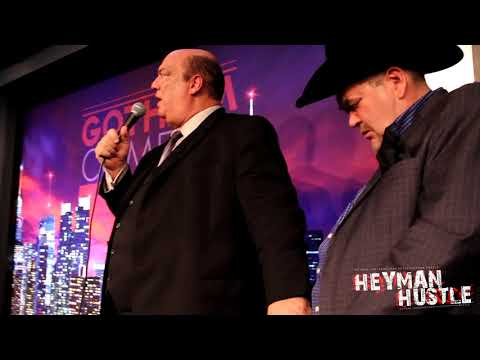 Paul Heyman's Speech About Jim Ross' Late Wife Jan in New York City