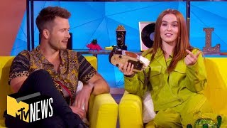 Zoey Deutch & Glen Powell See How Well They Know Rom-Coms, Celebrity Couples & More | TRL