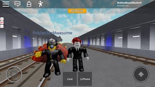 R160B Ride avec GoldenBirdAwesome! (Roblox STS 2)