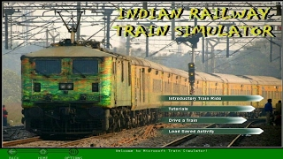 How to install MSTS Indian Railway || Microsoft Train Simulator Game with Indian Railways Route