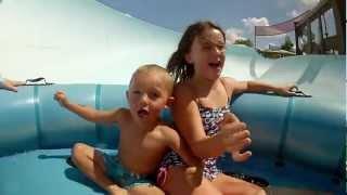 Walt Disney World Typhoon Lagoon & Blizzard Beach Water Parks Best Day Ever - GoPro HD