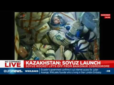 LIVE: Soyuz MS-02 spacecraft launches bound for ISS, Kazakhstan