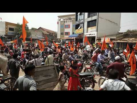 Chattarpati Shivaji Rally in Gadag.