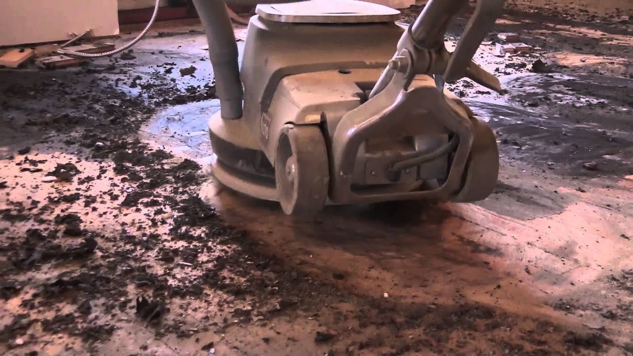 Captivating Mastic Removal On A Hardwood Floor | City Floor Supply   YouTube