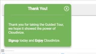 Cloudivize Quick Tour (1.4)