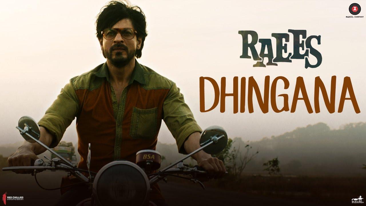 Dhingana Raees Shah Rukh Khan Jam8 Mika Singh Youtube