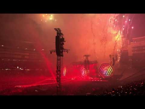 Coldplay Boston 2017