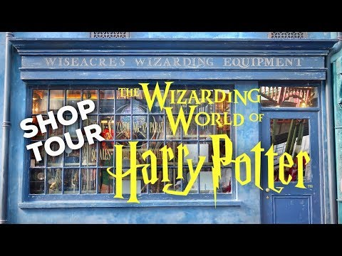 HARRY POTTER SHOP TOUR: Wiseacre's & Scribbulus | WIZARDING WORLD UNIVERSAL ORLANDO