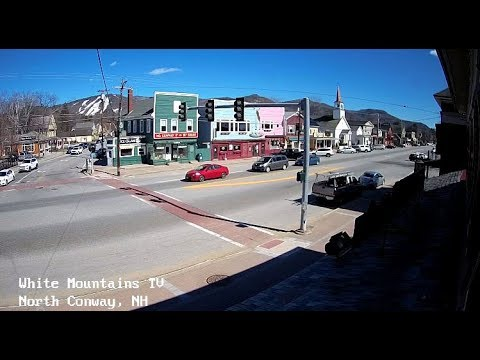 North Conway Village LIVE Cam - White Mountains TV