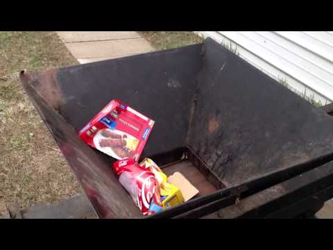 Homemade Aluminum Can Baler Funnycat Tv