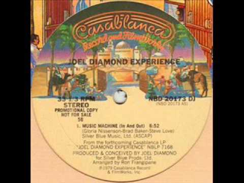 Joel Diamond Experience- Music Machine In And Out1979