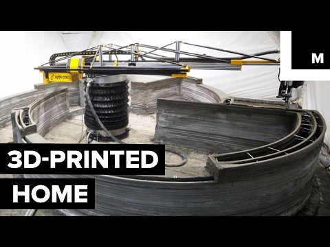 Thumbnail: 3D printing a home for under $10,000