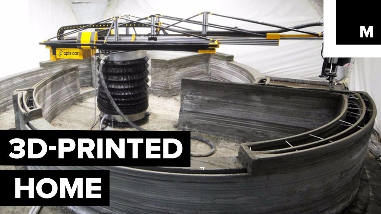 3D štampana kuća za manje od $10,000