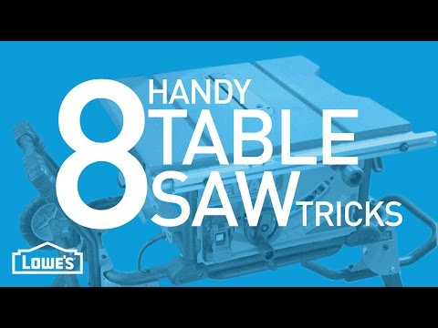 8 Handy Table Saw Tricks | Beyond The Basics