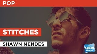 Stitches in the style of Shawn Mendes | Karaoke with Lyrics