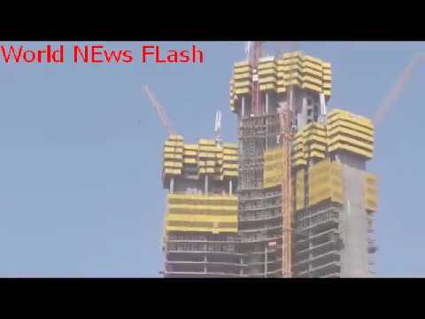 Incredible timelapse shows construction of world's tallest tower   World News Flash