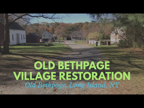 Living History - Old Bethpage Village Restoration - COMPLETE WALKTHROUGH - Old Bethpage, NY