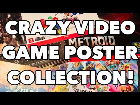 2019 Video Game Poster Collection!