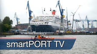 Im Dock bei der Queen Mary 2 | Upgrade für die Königin der Meere
