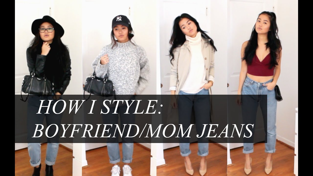 HOW I STYLE: Boyfriend/Mom Jeans (casual & dressy for fall ...