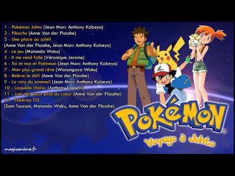 Les chansons Pokémon, Voyage à Johto