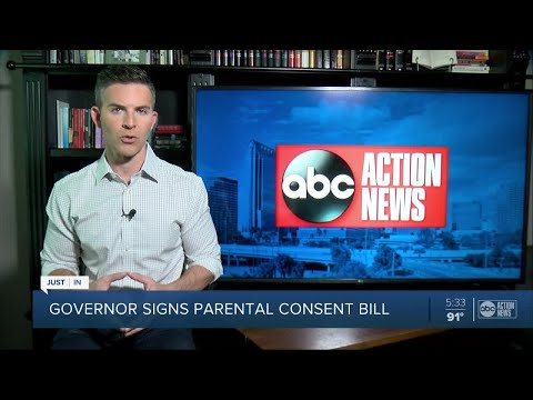 Gov. DeSantis signs bill that would require parental consent for abortion