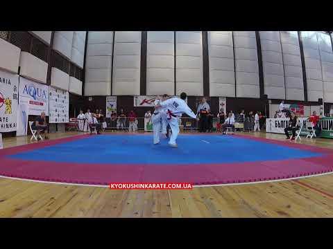 -70, 1/8 Artyom Galoyan (Ukraine) - Alim Iunusov (Russia, aka) - The 32nd European Championship
