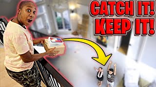 If You CATCH it, You KEEP it!! (EPIC CHALLENGE)