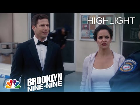 Amy's Ex-Boyfriend Arrives On Their Wedding Date | Season 5 Ep. 22 | BROOKLYN NINE-NINE