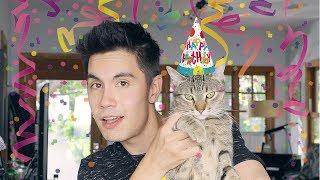 VLOG: Kittens, Tigers, & Sam, OH MY! (Alfie's 1st Birthday!!!) | Sam Tsui