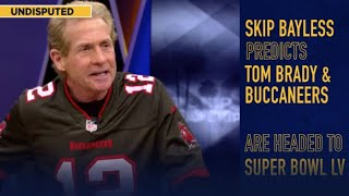 Since tom brady signed with the tampa bay buccaneers on march 17th of 2020, skip bayless knew they were super bowl bound. here's a compilation all tim...