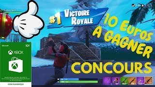 Fortnite CONCOURS PASSE OF COMBAT to be won or 1000 V-Bucks 10 Euros XBOX