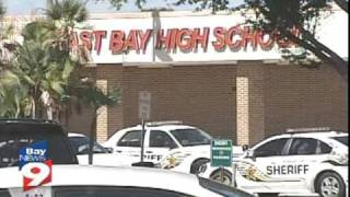 School Lockdown: East Bay High School In Florida.