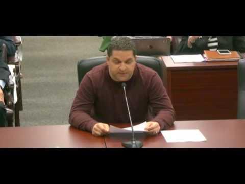 Paul Mercier BCPS board meeting 5 23 17