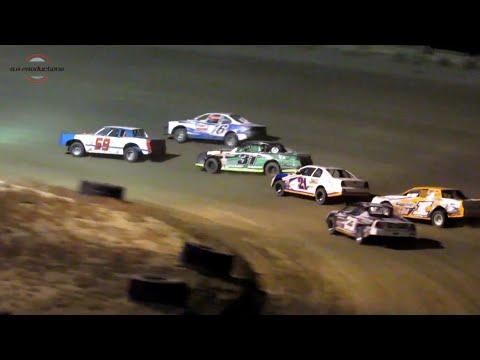 Desert Thunder Raceway IMCA Stock Car Heat Races 9/28/18